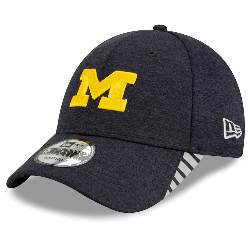NCAA Michigan Wolverines New Era Visor Trim 9FORTY - Navy