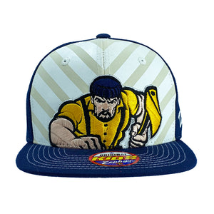 NCAA Northern Arizona Lumberjacks Kid Zephyr Shockwave Snapback - Navy