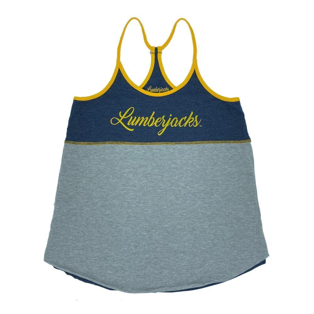 NCAA Northern Arizona Lumberjacks Women's Colosseum Verona Reversible Tank - Navy