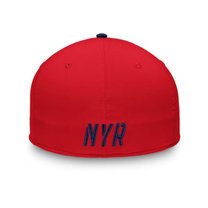 NHL New York Rangers Fanatics Iconic Speed Flex Fit Hat - Navy
