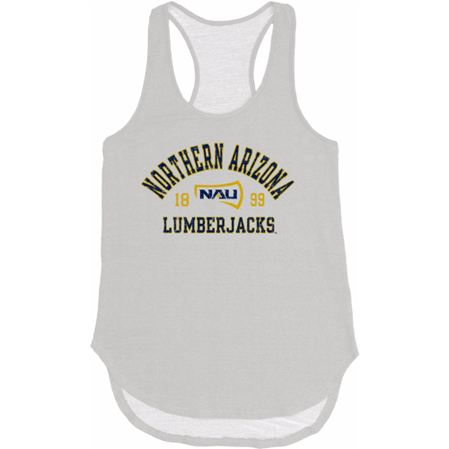 NCAA Norther Arizona Lumberjacks Women's Huntington Jr Nala Terry Tank Top - White
