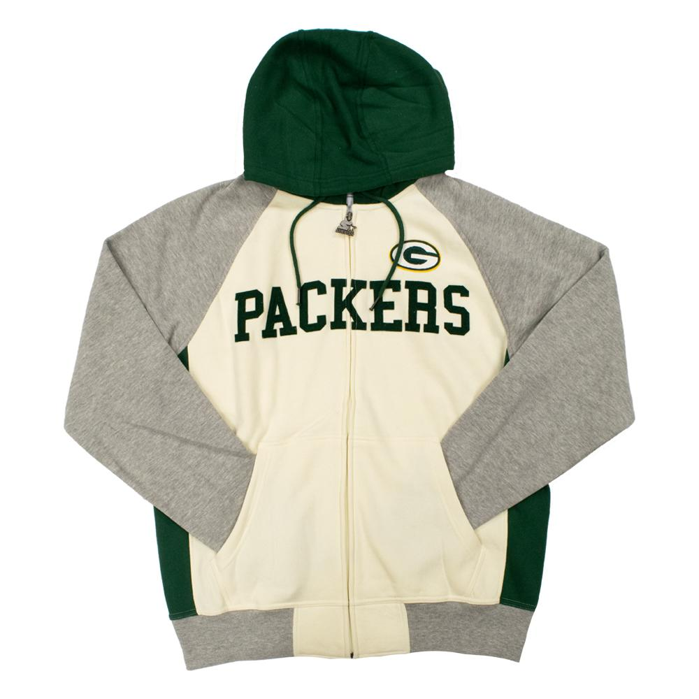 NFL Green Bay Packers Starter Pinnacle Full-Zip Jacket - White
