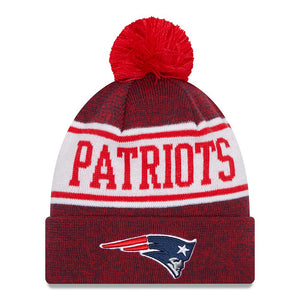 NFL New England Patriots New Era Banner Knit - Navy/Red