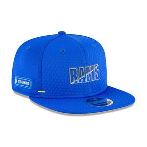 NFL Los Angeles Rams New Era 2020 Training 9FIFTY - Blue