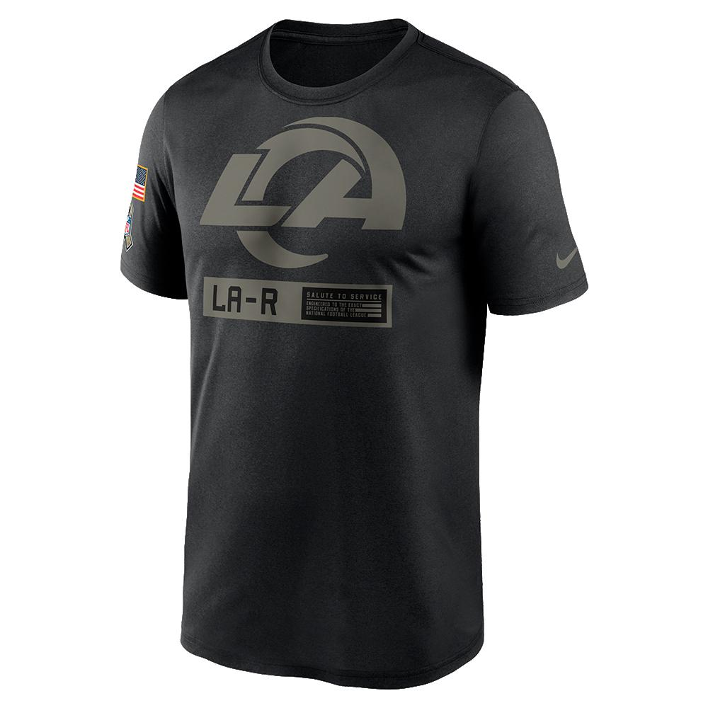 NFL Los Angeles Rams Nike 2020 Salute to Service Legend Tee - Black