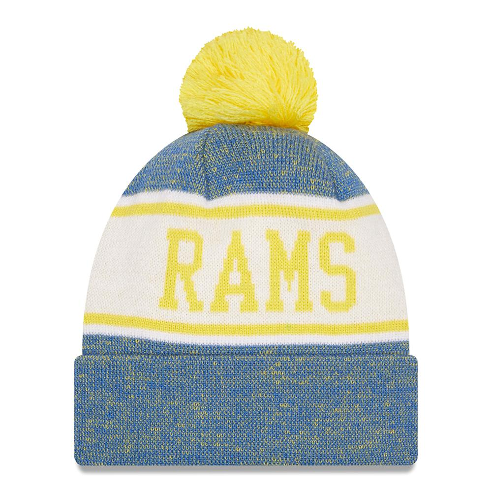 NFL Los Angeles Rams New Era Banner Knit - Blue/Yellow
