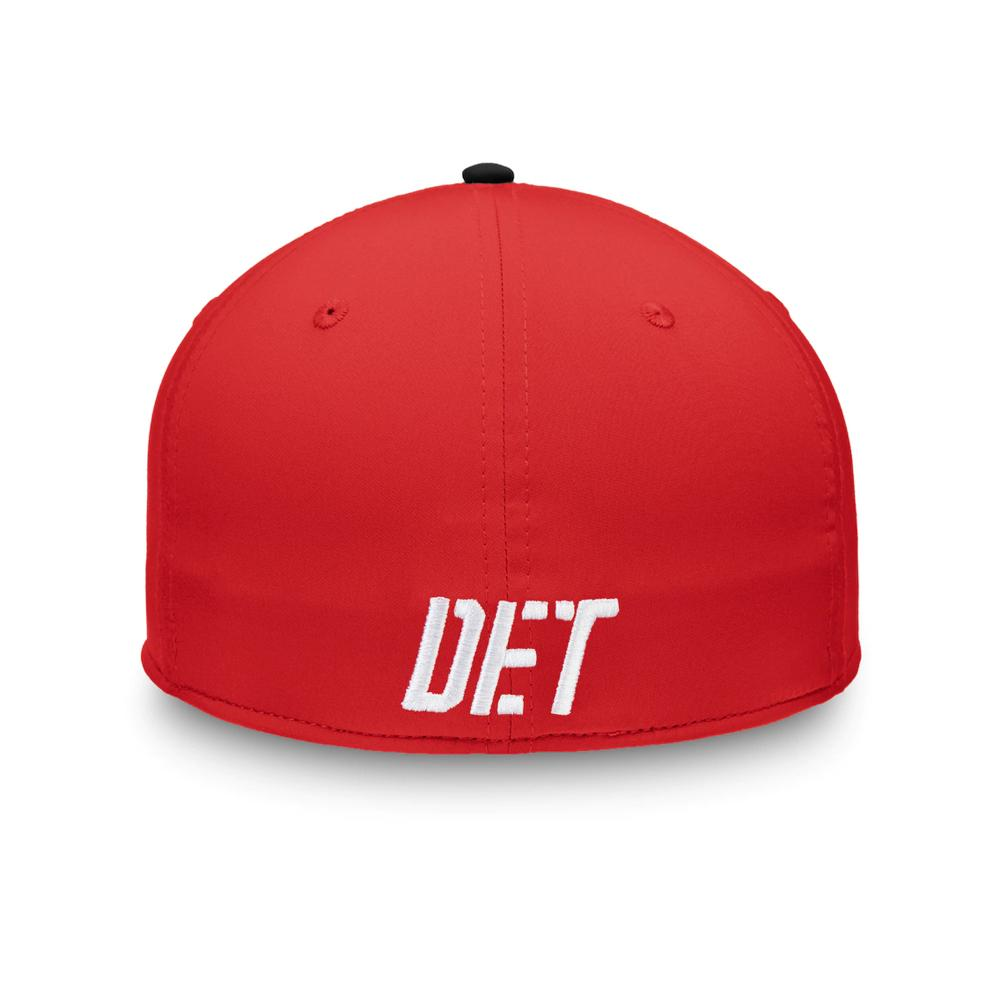 NHL Detroit Red Wings Fanatics Iconic Speed Flex Fit Hat - Black