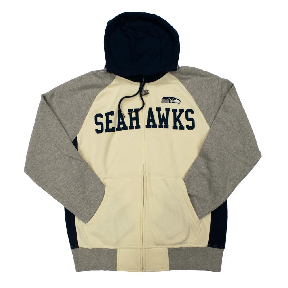 NFL Seattle Seahawks Starter Pinnacle Full-Zip Jacket - White