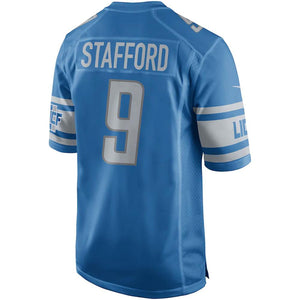 NFL Detroit Lions Matthew Stafford Nike Game Jersey - Blue