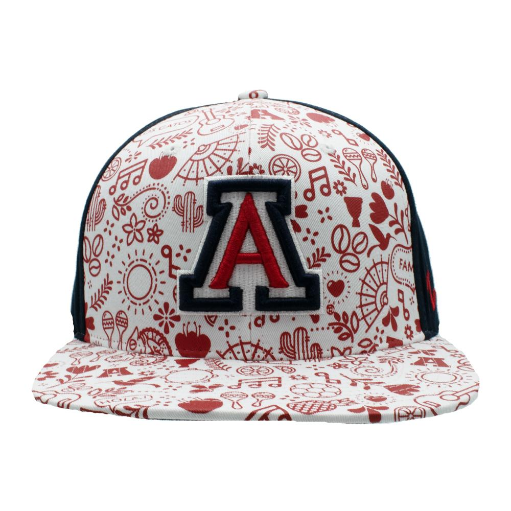 NCAA Arizona Wildcats Zephyr Spanish Heritage Snapback - Navy