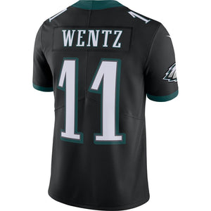 NFL Philadelphia Eagles Carson Wentz Nike Limited Jersey - Black