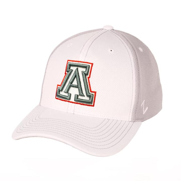 NCAA Arizona Wildcats Zephyr Yeti ZFit Flex - White