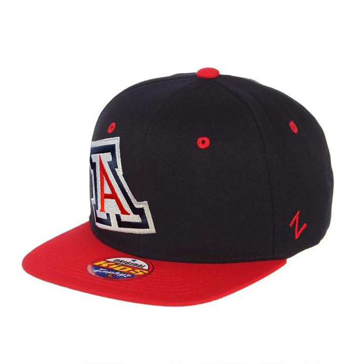 NCAA Arizona Wildcats Youth Zephyr Wildcat Hooligan Z11 - Navy