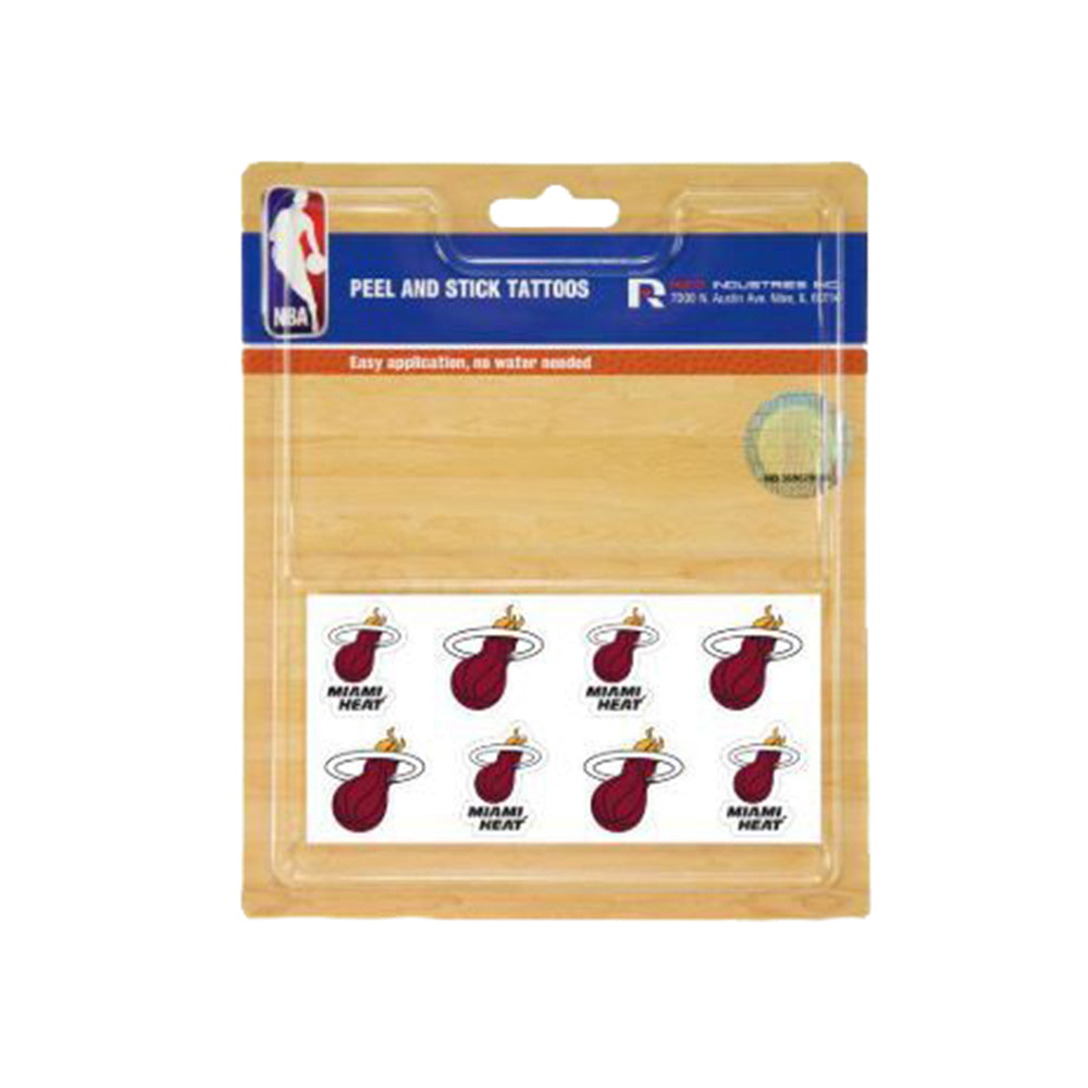 NBA Miami Heat Rico Peel & Stick Tattoos