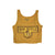NCAA Arizona State Sun Devils Women's Blue 84 Crackle Vintage Crop Tank - Gold