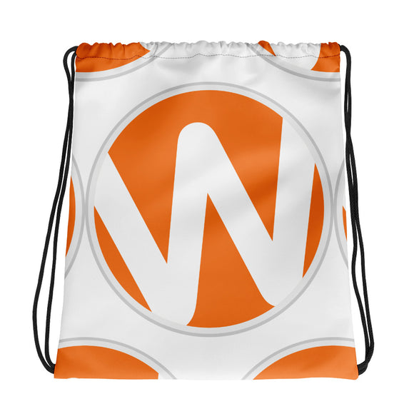 WINC Logo Drawstring Backpack