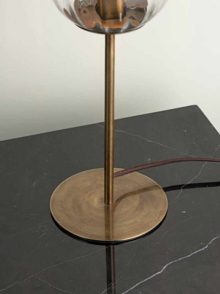 Artis - 1 light aged brass table lamp