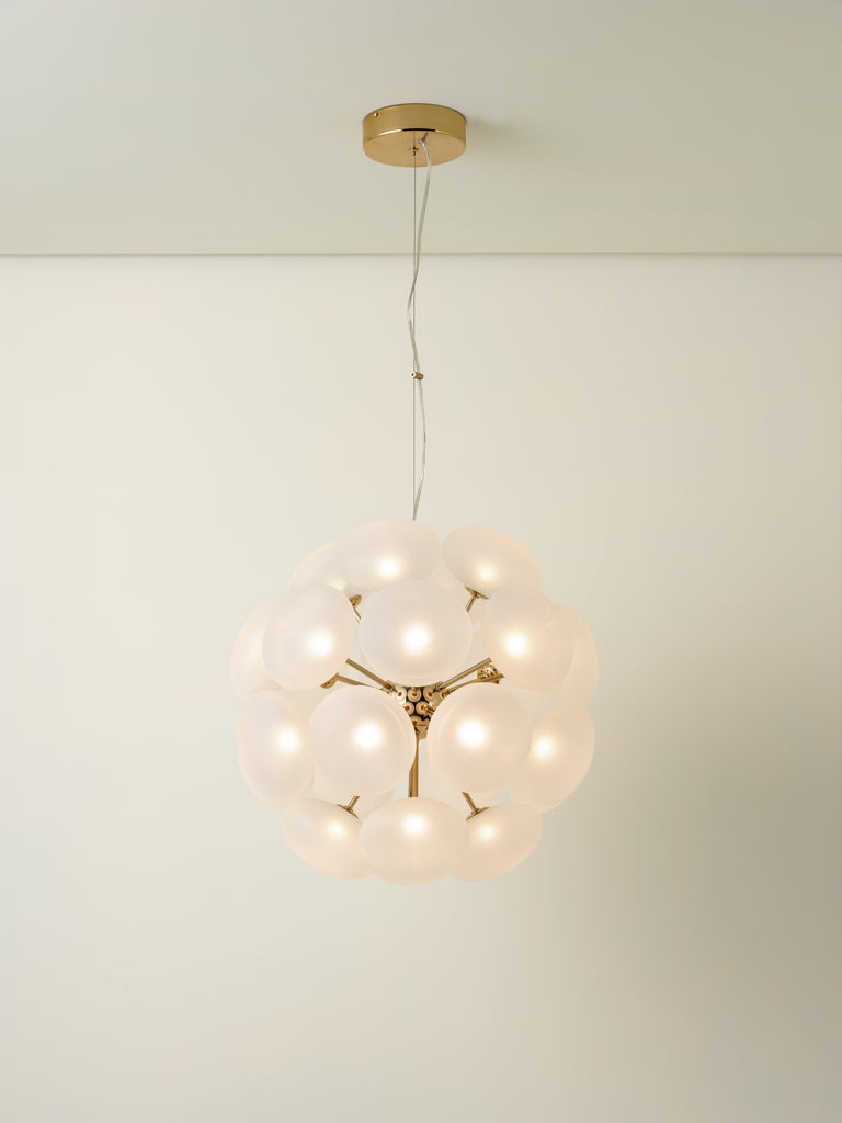 Cadia sputnik - 24 light LED sputnik pendant