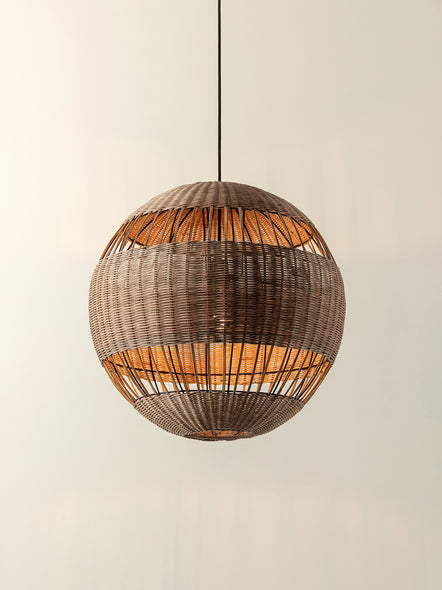 Capella - natural rattan lampshade