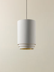 Trey - white 3 tier cylinder lampshade