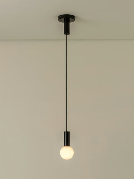 Pico - 1 light matt black pendant/wall light