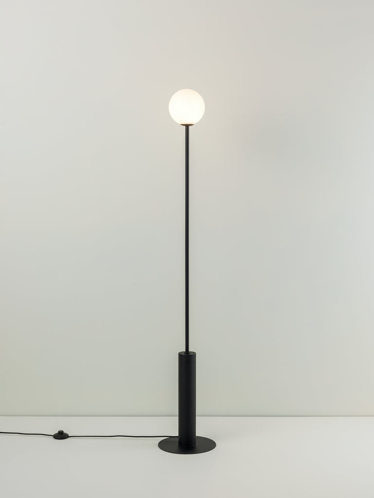 Pico - 1 light matt black floor lamp