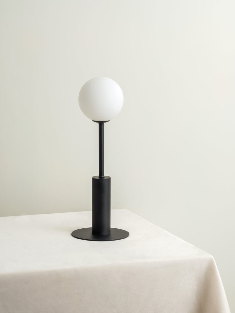 Pico - 1 light matt black table lamp