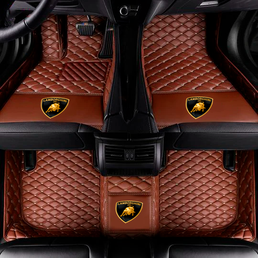 VIP LEATHER CAR MAT / UPHOLSTERY(LOGO INCLUDED)