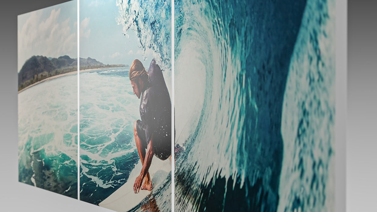 The Surfer Vinyl Wall Art