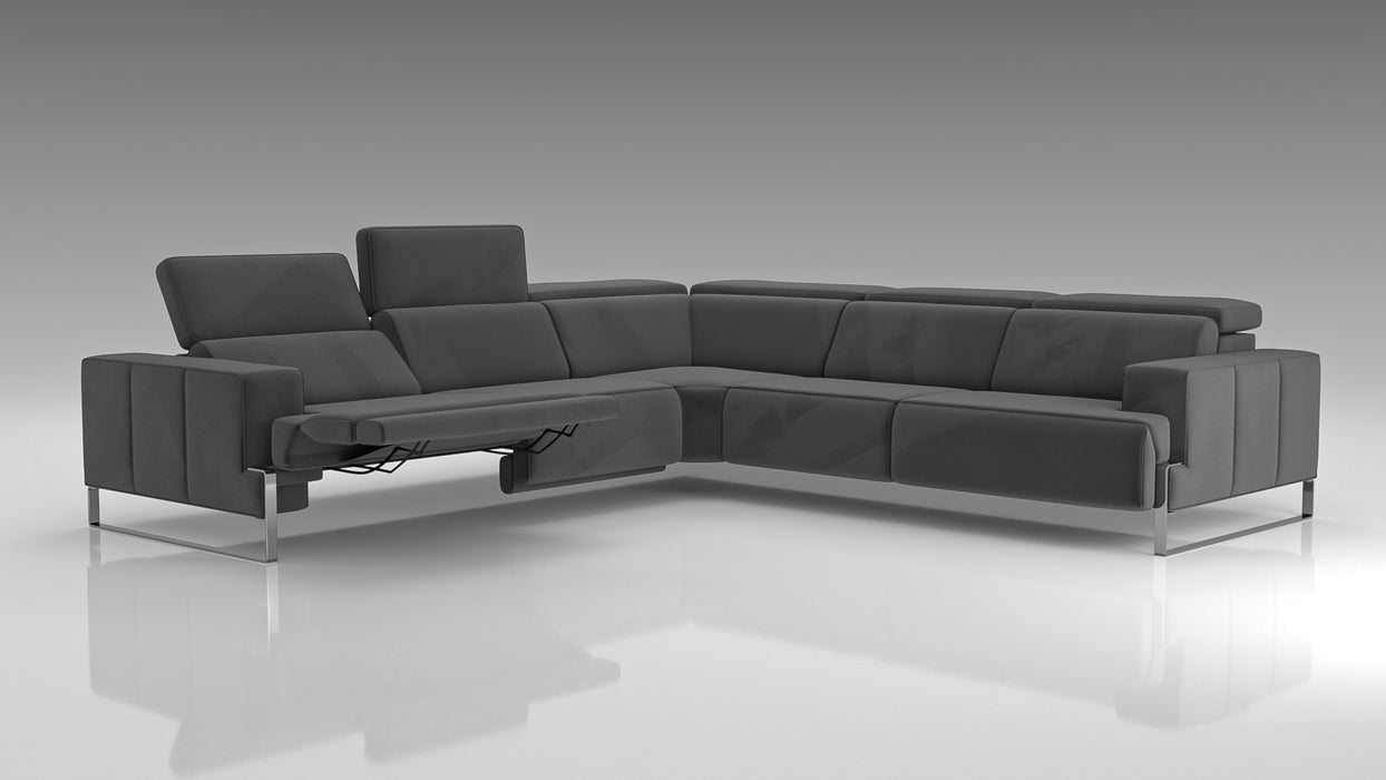 Stefano Recliner Sectional AquaClean Fabric