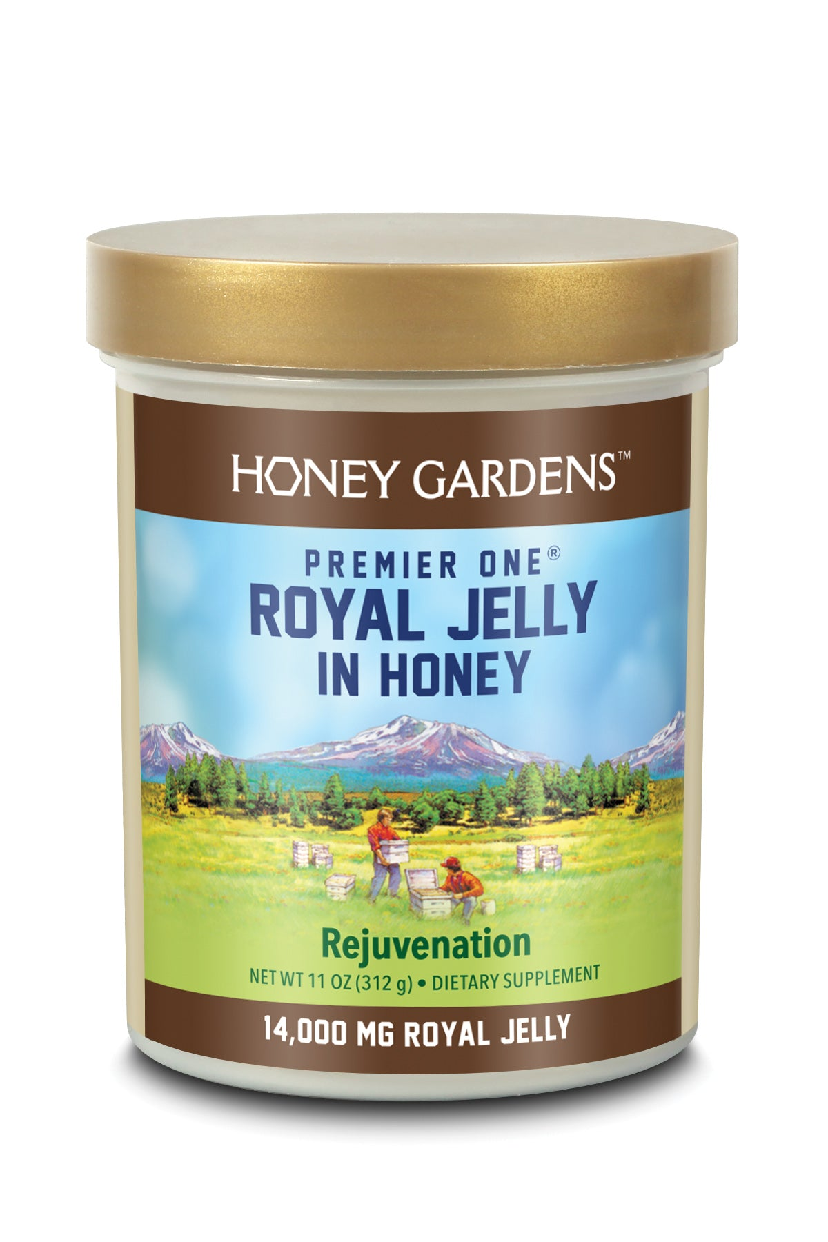 Royal Jelly In Honey 14000 - 11 oz