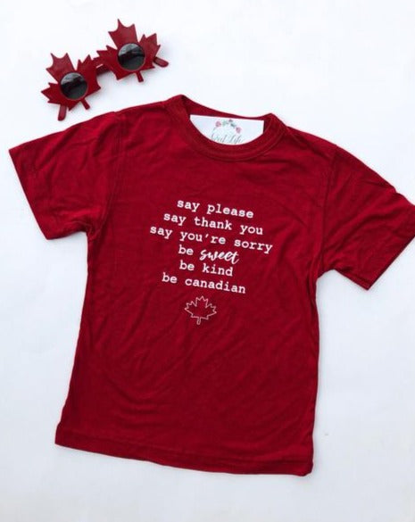 Be Canadian T Shirt