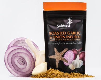 Organic Roasted Garlic and Onion Infused Sea Salt