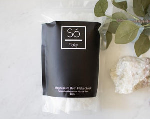 So Luxury Flaky- Magnesium Bath Flake Soak