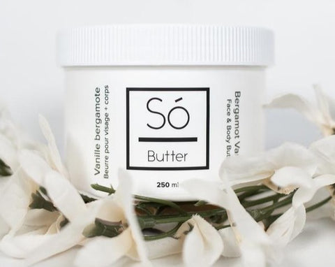 So Luxury Bergamot Vanilla Face and Body Butter