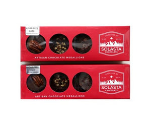 Artisan Chocolate Medallions- No Sugar Added/Keto Diet Chocolate