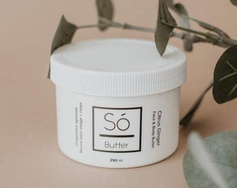 So Butter- Citrus Ginger Face and Body Butter