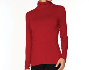 Red Turtleneck