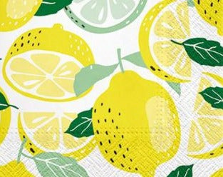 Lemony Lunch Napkins
