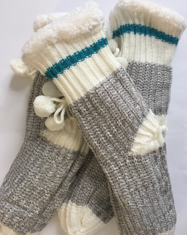 Cozy Sweater Reading Socks