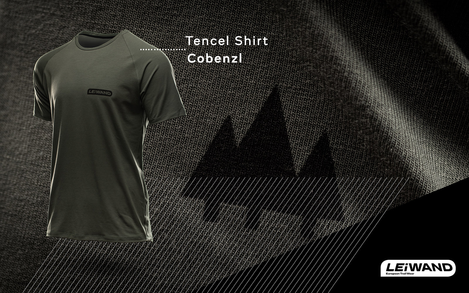 Tencel Shirt Mountainbike Made in EU Funktionsshirt Baselayer