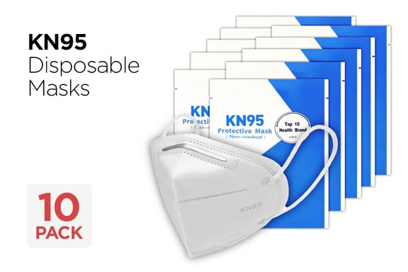 KN95 Respiratory Face Mask - 10 Pack - impact PPE