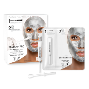 Packshot of the PRO Platinum Peel Mask Pack
