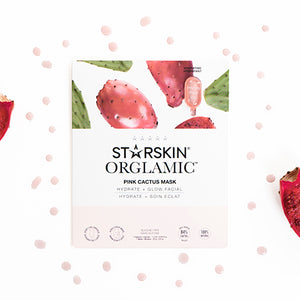 Orglamic™ Pink Cactus Oil Mask