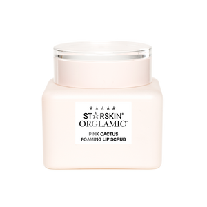 Orglamic™ Pink Cactus Foaming Lip Scrub