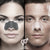 man and women wearing the  Sunset Strips 3-step nose strips