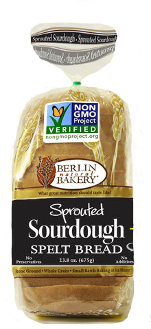 Sprouted Sourdough Spelt Bread