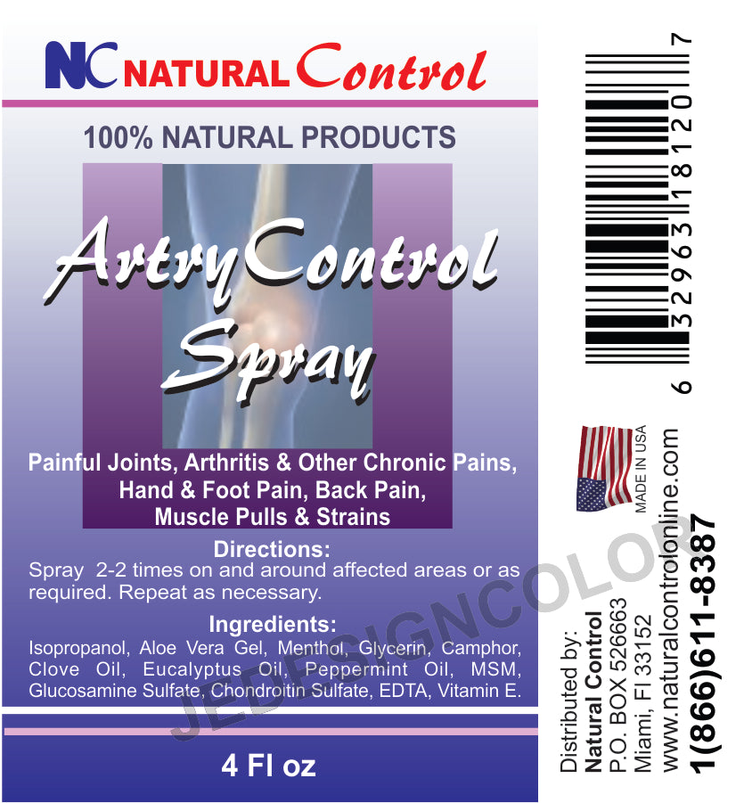 ARTRY CONTROL SPRAY