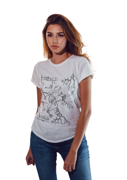 women's designer t shirt