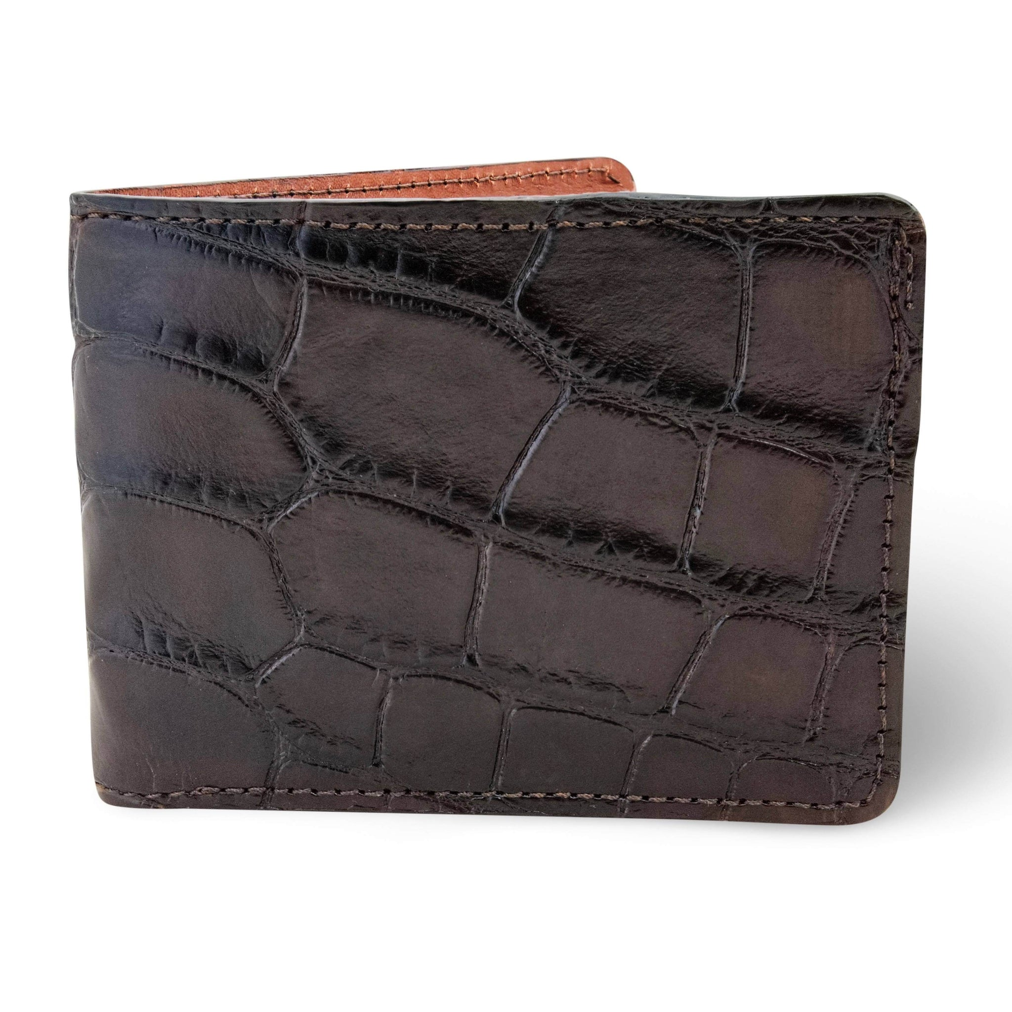 Black Alligator Skin Wallet
